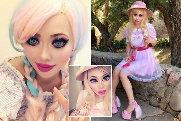 Американка изменила разрез глаз ради сходства с любимой куклой Барби