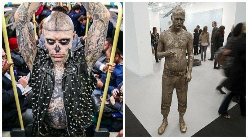 В Лондоне у входа в Музей науки появится гигантская скульптура Зомби Боя
