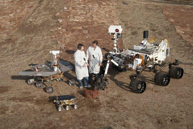 Фотографии с Марса без всяких фотофильтров