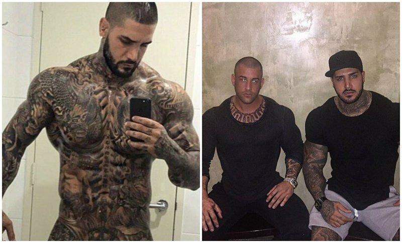 Зататуированный австралиец, связанный с преступниками, набирает популярность в Instagram