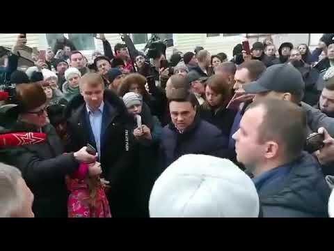 Жуткое видео с девочкой, угрожающей губернатору Подмосковья
