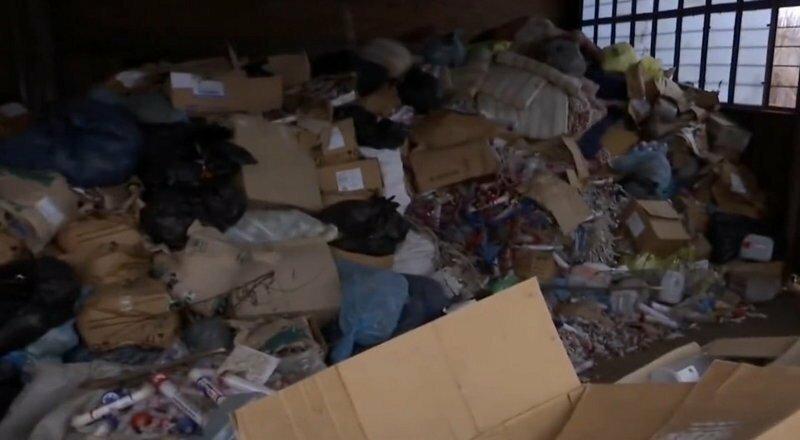 1,5 тонны человеческих останков обнаружили в Запорожье