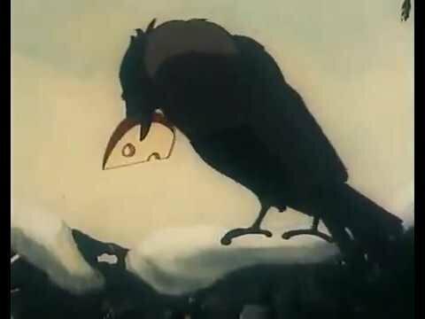 Ворона и лисица (грузино - узбекский вариант)