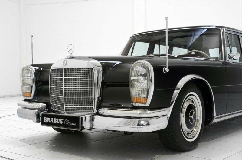 Mercedes-Benz 600 Pullman 1967 - восстановленная классика по цене современного гиперкара
