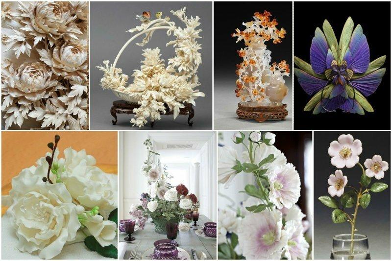 Из чего делают цветы