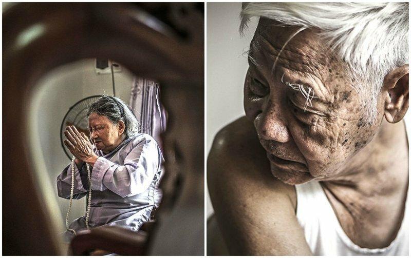 60 лет безграничной любви: вьетнамка фотографирует будни своих бабушки и дедушки