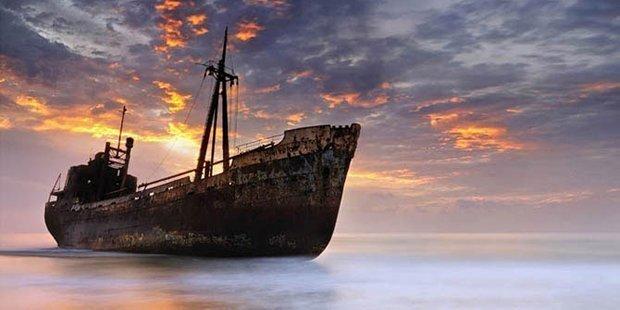 5 брошенных кораблей со всего мира