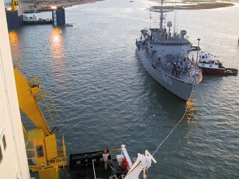 Огромные морские суда - Хэви лифты - продолжение