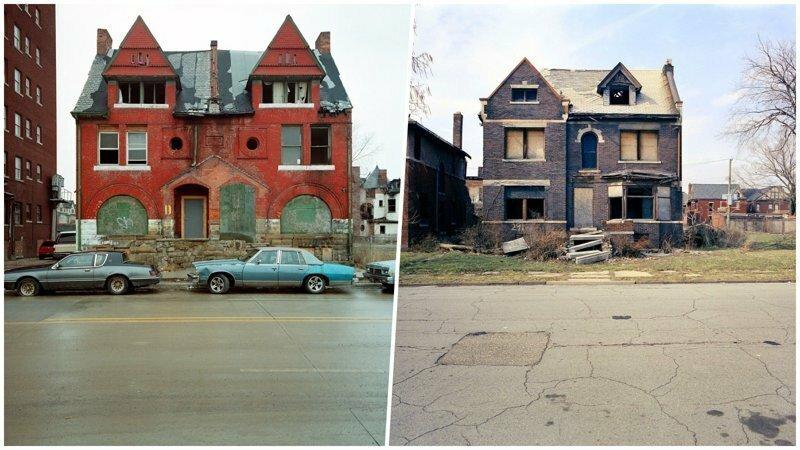 Фотограф из Детройта показал заброшенные дома этого города