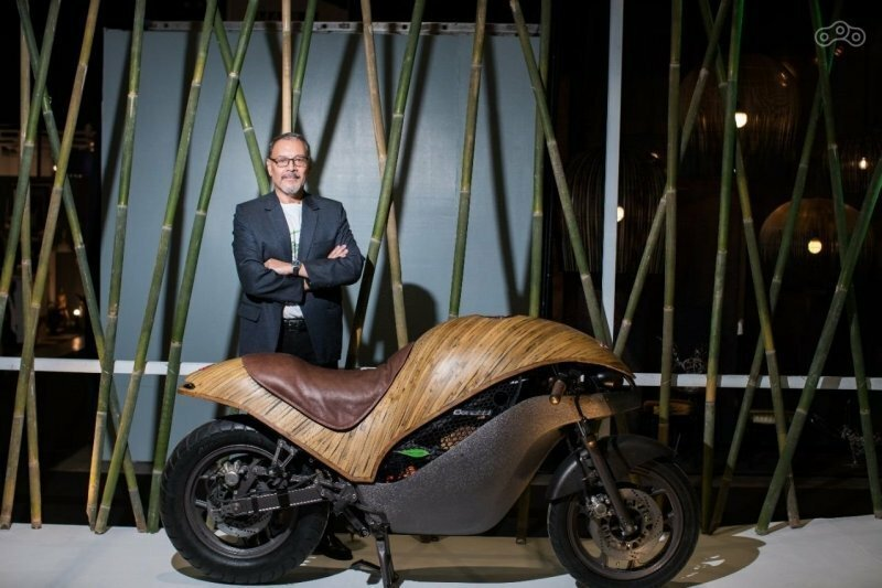 Green Falcon - бамбуковый байк на электротяге
