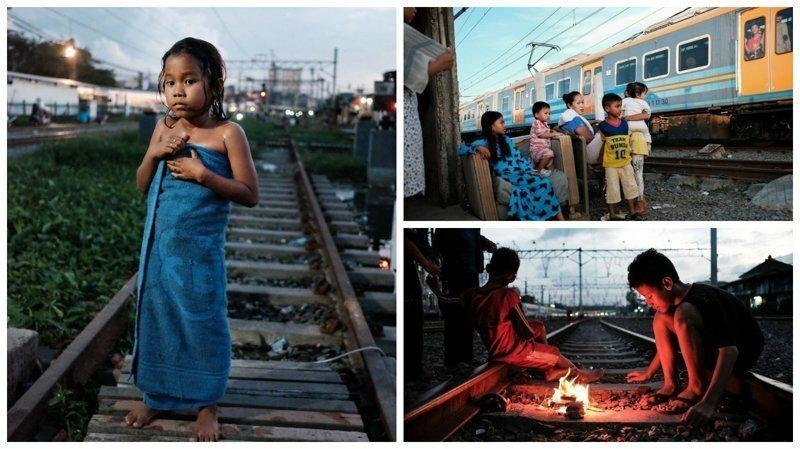 Правдивые фотографии из трущоб Джакарты