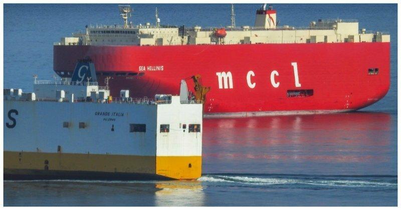 Столкновения кораблей, ужасные и курьезные видео