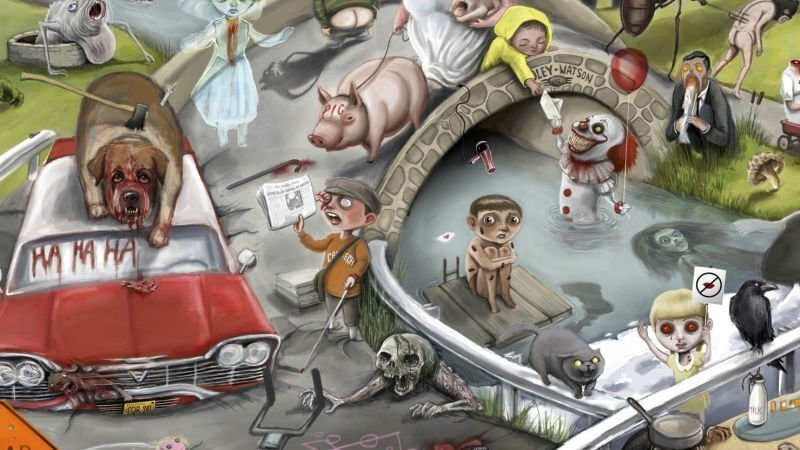 170 отсылок к произведениям Стивена Кинга на одном постере