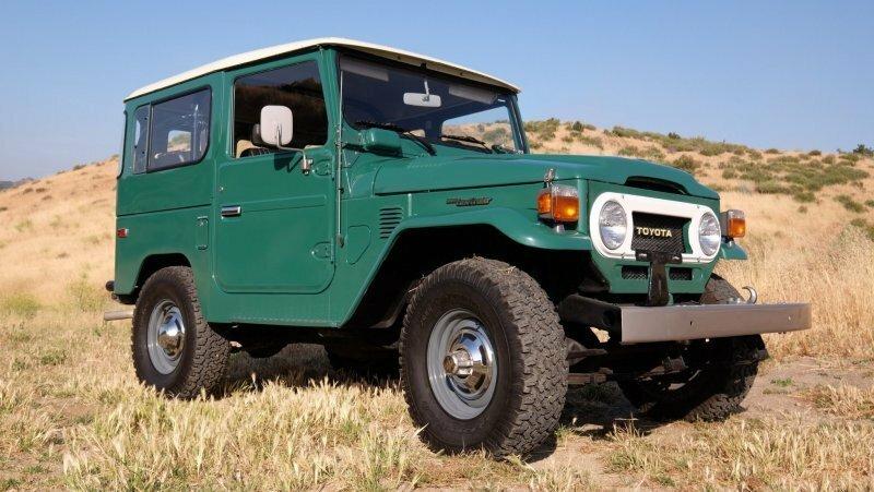 40-летний и полностью оригинальный Toyota Land Cruiser FJ40