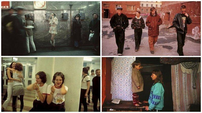 Лихие 90-е: снимки французского фотографа Лиз Сарфати