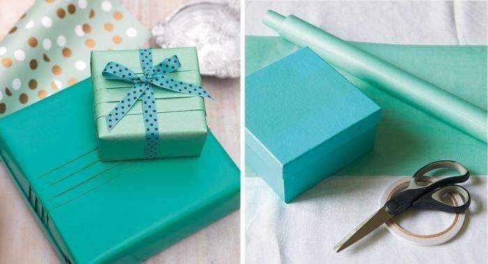 Как упаковать подарок правильно?