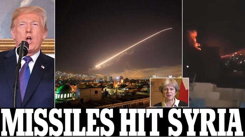 Реакция общества на нанесение ракетных ударов по Сирии коалицией во главе с США