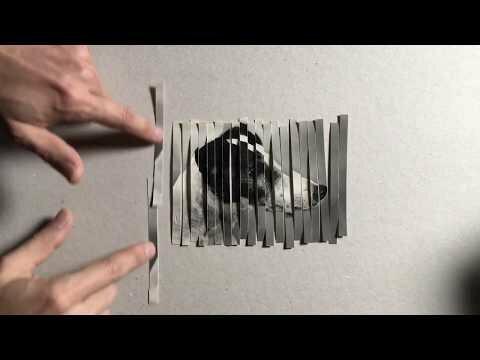 Хитрый трюк как разрезать одну фотографию и получить четыре