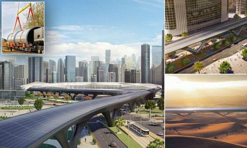 Первую в мире коммерческую установку Hyperloop построят в ОАЭ
