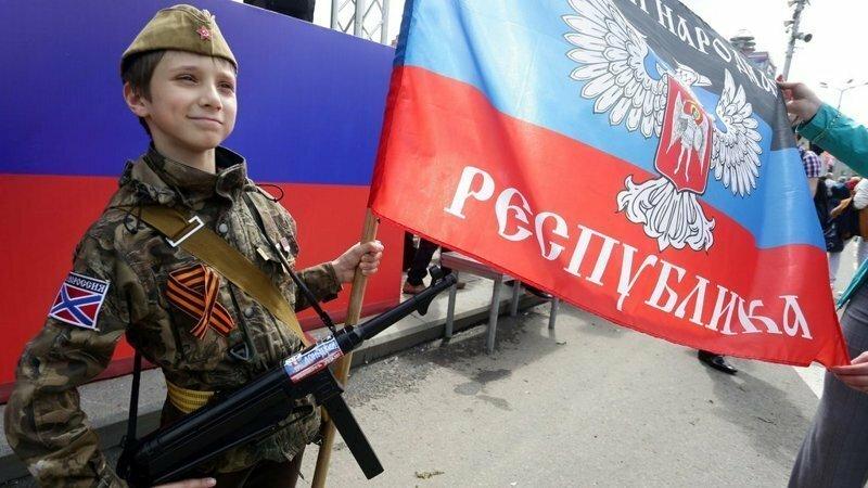 Редкие фото детей Донбасса