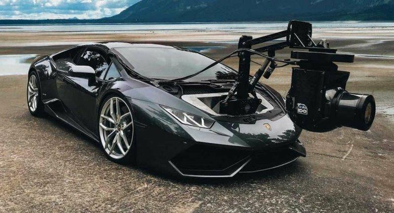 Спорткар Lamborghini Huracan переоборудовали для киносъемок