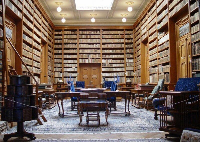 Как выглядят внутри самые потрясающие библиотеки мира?