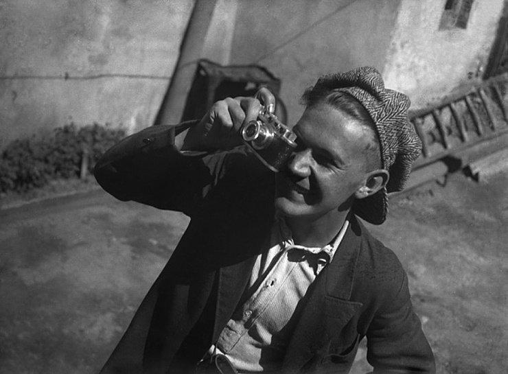 Евгений Халдей: фотограф эпохи