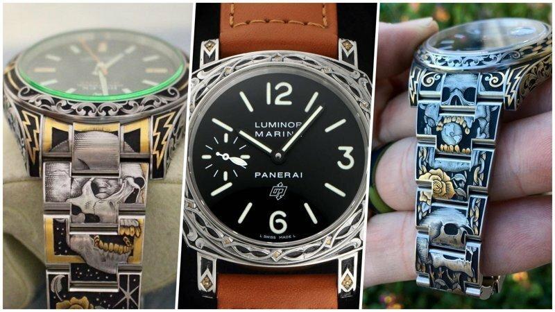 Гравировка: как сделать дорогие часы ещё дороже