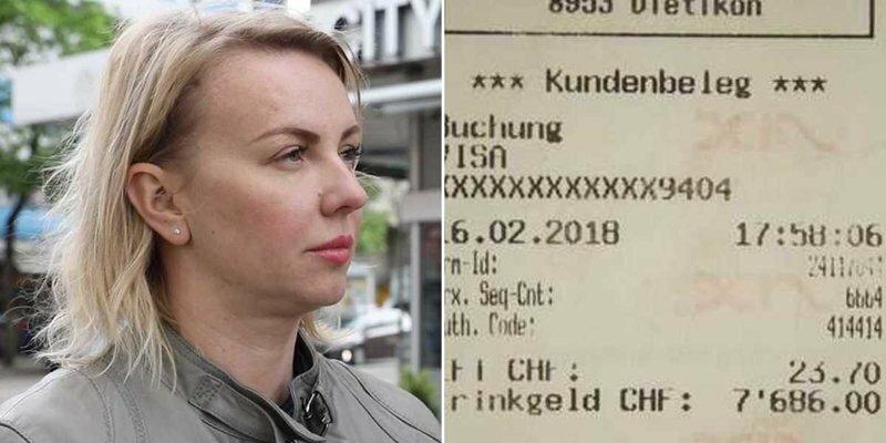 Ошибочно введя ПИН-код, россиянка оставила 8000 долларов чаевых в шашлычной