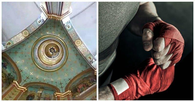 Утром - служба, вечером - бокс: в калининградском храме открывают клуб единоборств