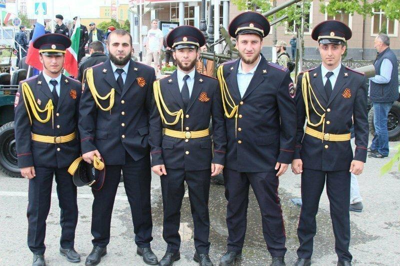 Парад Победы в Грозном 9 мая 2018 года