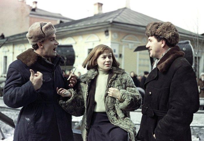 Архивные фотографии со съемочных площадок известных советских фильмов