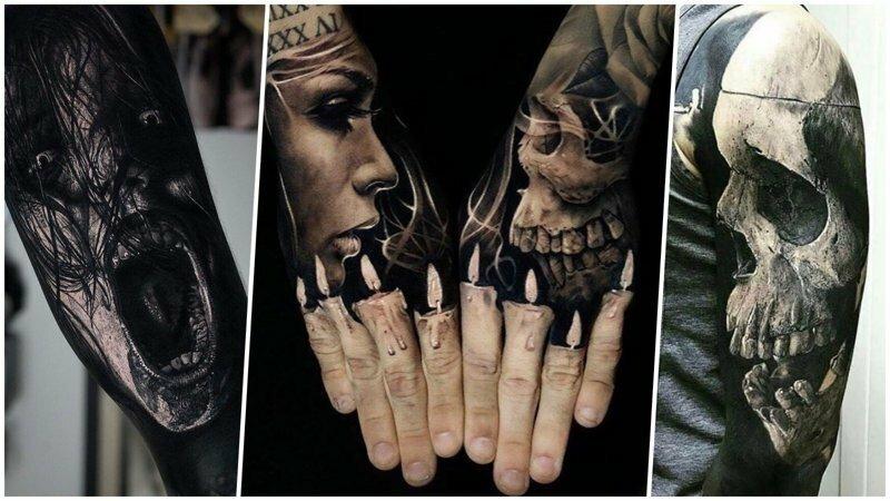 35 невероятно реалистичных татуировок, от которых мурашки бегут по коже
