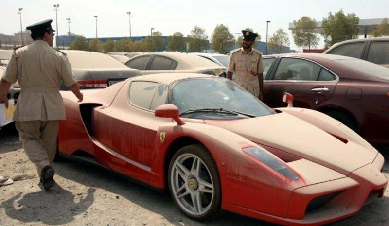 Автомобильный аукцион Копарт в Дубае