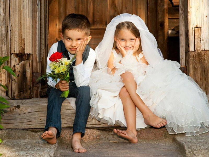 Что такое свадьба с точки зрения детей?