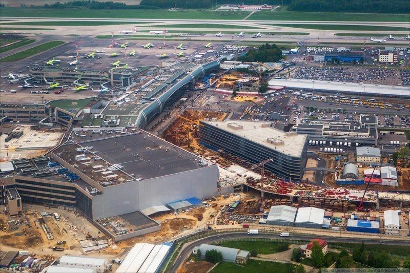 Сейчас строится в России. Пост номер 17. Строительство нового терминала T2 аэропорта Домодедово