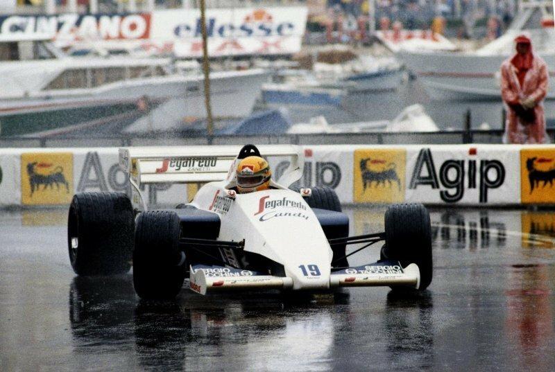 Toleman-Hart TG184: частица первого подиума Сенны в Монако в продаже