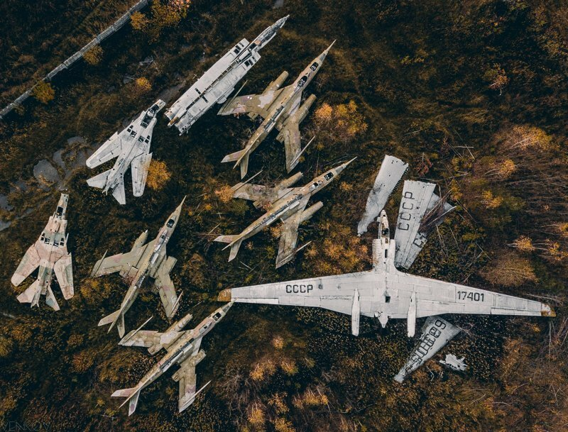 Самолеты на пенсии
