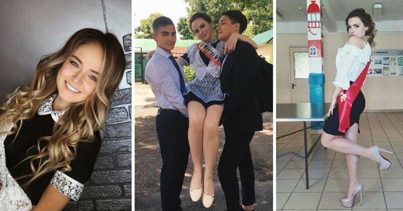 Самые сногсшибательные участницы последнего звонка-2018 из Instagram