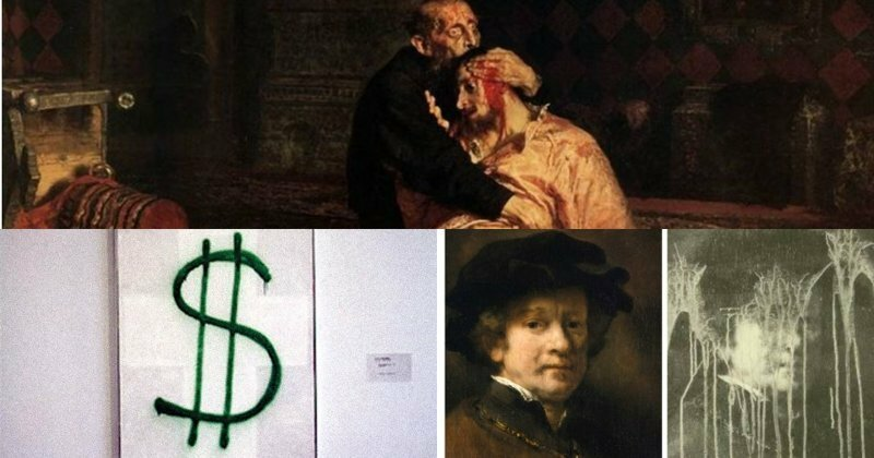 По стопам Герострата: Музейные вандалы и их жертвы