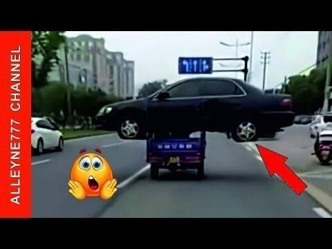 Автоэвакуатор в китайском стиле!!! Сложно поверить глазам, что такое возможно!