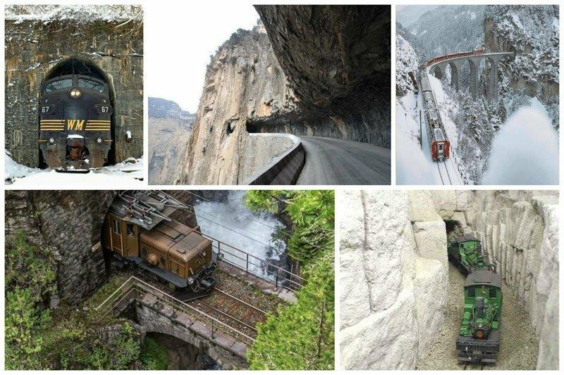 Невероятные тоннели - страшные и опасные. Вы только посмотрите на это!