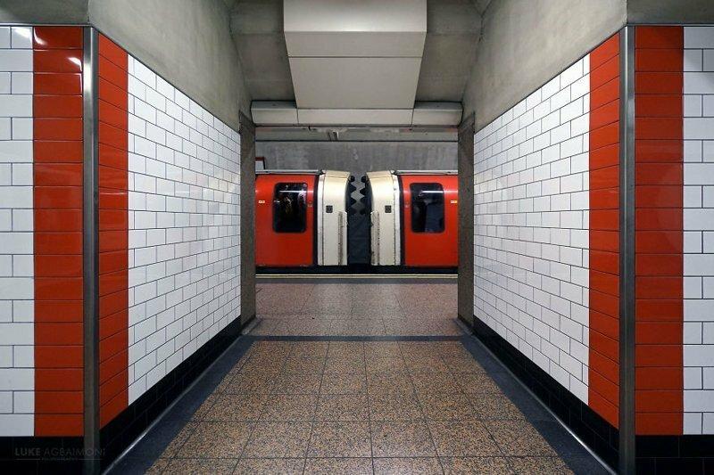 Фотопроект: симметрия в транспортной системе Лондона