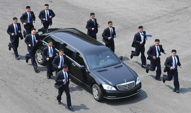 Вся правда о бегущих телохранителях Ким Чен Ына