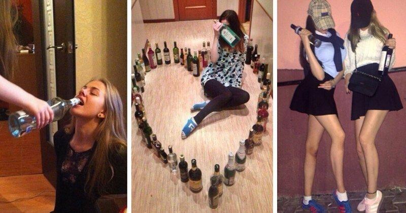 Выпила водку, береги одногодку. О молодеющем женском алкоголизме