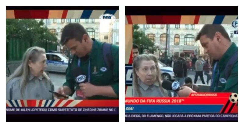 Полный Бенджамин! Русская бабушка пообщалась с корреспондентом из Бразилии: видео