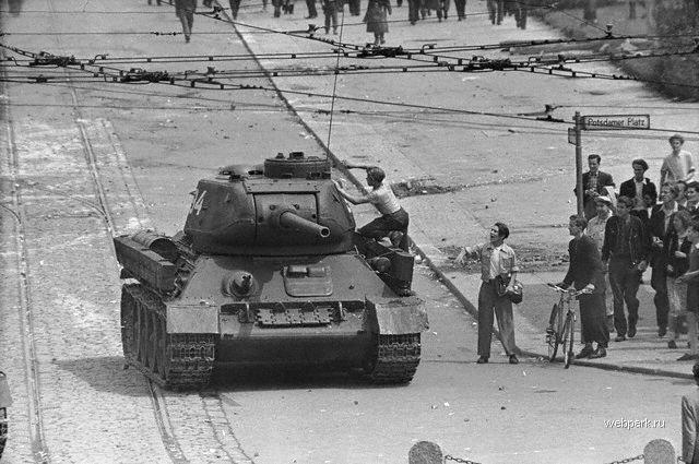 «Мармеладный бунт»: какнемцы в1953 году подняли восстание вГДР