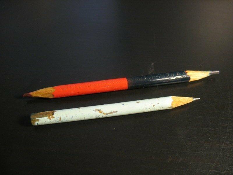 Где и почему в был запрещен химический карандаш