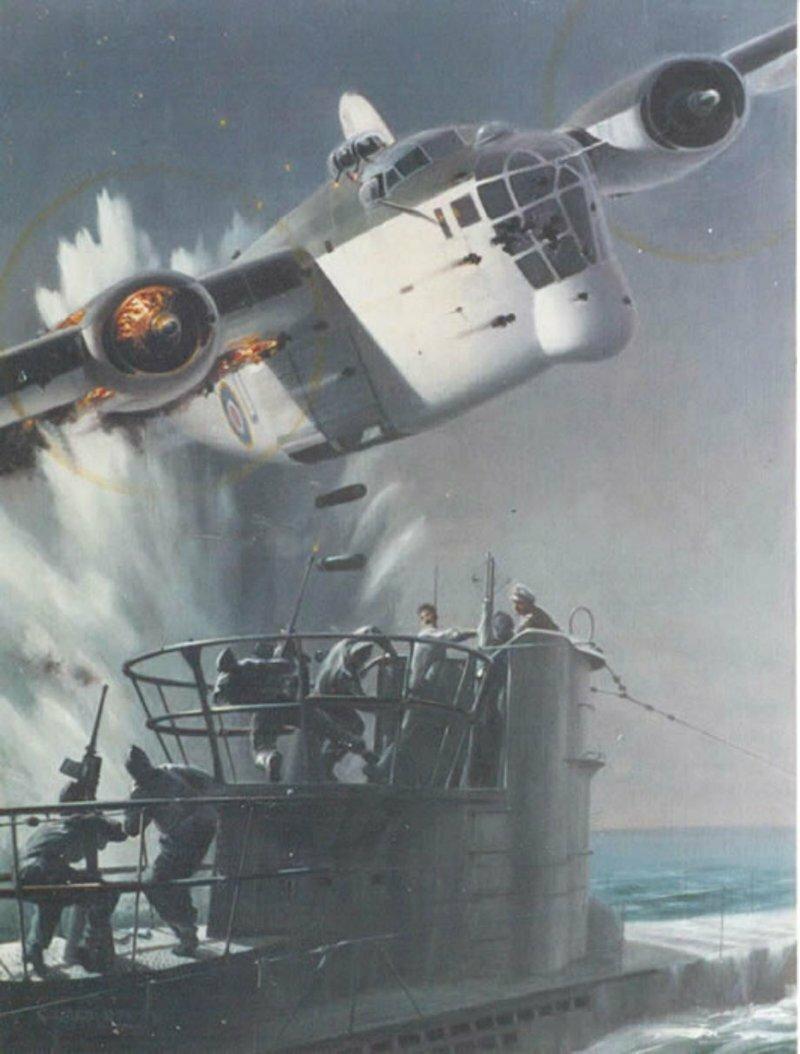 Лодка против самолёта: сбить и выжить. Часть 1