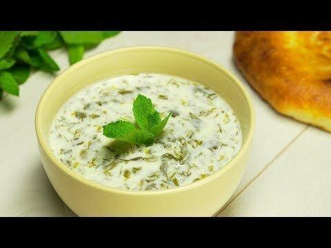 Довга. Азербайджанская кухня